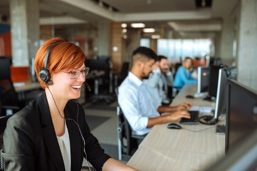 Contact Center Agents At Work Cisco Packaged Contact Center Cloud