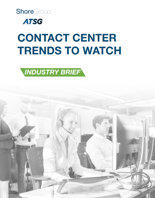 Contact Center Trends to Watch
