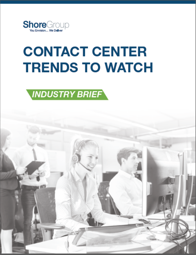 Industry Brief Contact Center Trends