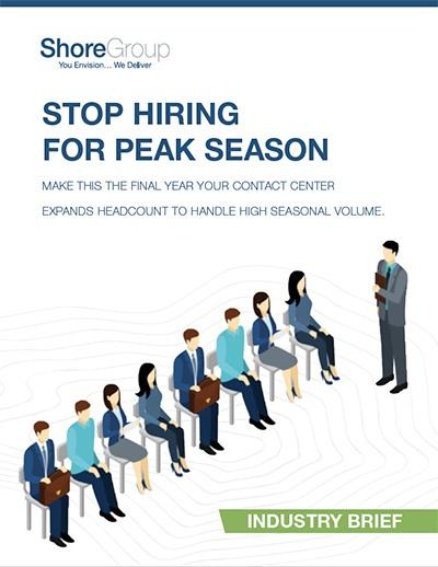 Stop Hiring for Peak Season