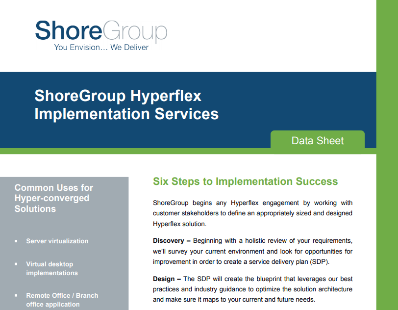 Hyperflex Implementation Services Datasheet Image for LP