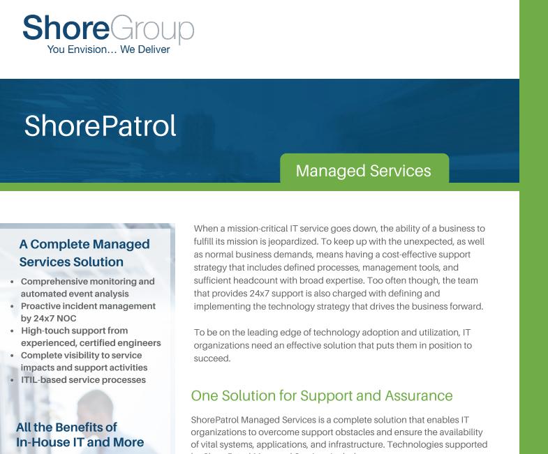ShorePatrol_Managed Services_Datasheet