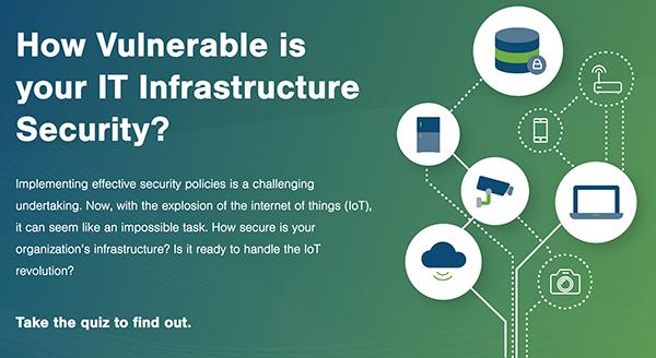 IT security quiz graphic