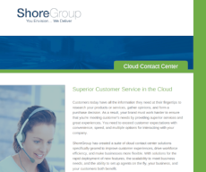 Cloud Contact Center Services